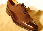 LEATHER & SUEDE MEN'S SHOE